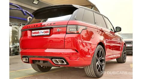 land rover range rover sport svr   sale aed