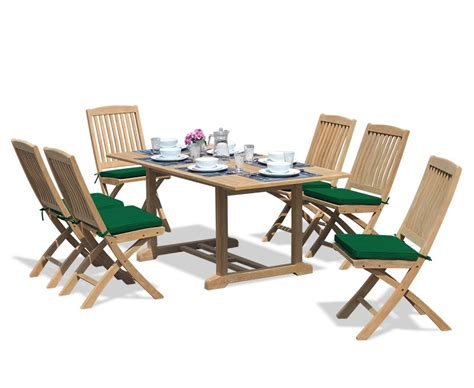 hilgrove 6ft rectangular table and 6 folding chairs set