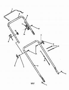 Craftsman 1997 Gas Push Lawnmower Parts