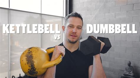 vs dumbbells kettlebells