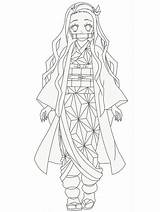 Nezuko Slayer Demon Kimetsu Yaiba Coloring Kamado Anime Draw Mangajam Printable Lovely Drawing Drawings Zenitsu Animegoodys Manga Inosuke Giyuu Demonslayer sketch template