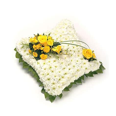 Cuscino Per Funerale - consegna fiori per lutto a domicilio con consegna fiori