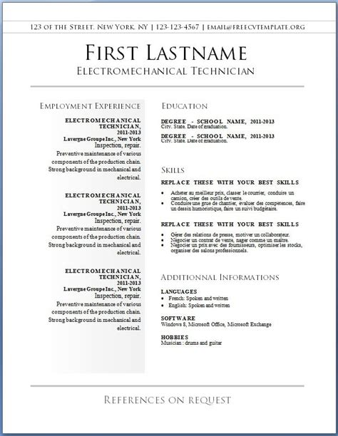 Where To Print Resume by Free Print Resume Best Resume Gallery