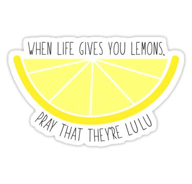 When Life Gives You Lemons Sticker by zariagrace in 2021 ...