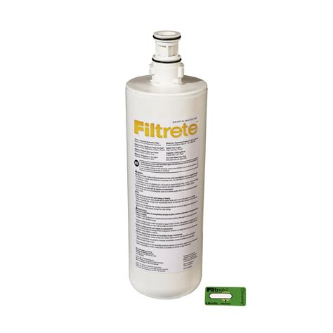 filtrete sink standard replacement water filter filtrete standard sink water filtration filter 3us