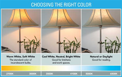 light bulb color temperature color and mood energy