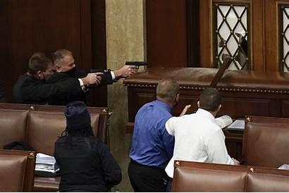 Capitol Guns Drawn Rioters Chamber Storming Masslive
