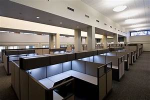 Office design debate open space versus the cubicle for Open office cubicles