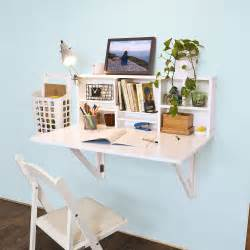 sobuy folding wall mounted drop leaf table desk with