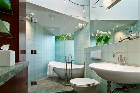 Spa Inspired Bathrooms by Spa Inspired Bathroom With Frosted Glass Window Hgtv