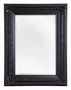 Spiegel Mit Schwarzem Rahmen : frejus spiegel mit schwarzem barock rahmen ~ Buech-reservation.com Haus und Dekorationen