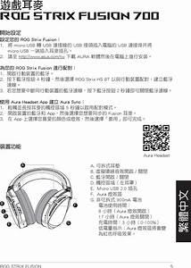 Asustek Computer Rogstrixf700 Rog Strix Fusion 700 Gaming