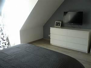 Commode Chambre Adulte : chambre parentale 8 photos fema ~ Teatrodelosmanantiales.com Idées de Décoration