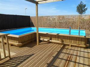 creation piscine sur mesure en bois bluewood a poussan With terrasse en bois pour piscine hors sol 6 installation creation de piscine en bois sur mesure bluewood