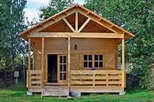 Cabane Bois Pas Cher : cabane en bois en kit cabanes and co ~ Melissatoandfro.com Idées de Décoration