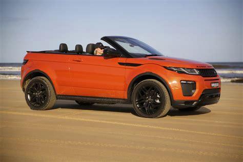 rang rover evoque cabriolet land rover range rover evoque convertible driven range rover evoque convertible drops goauto