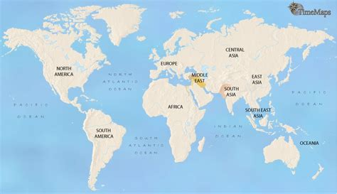 World History Map For 2500 Bc, Showing Ancient Egypt And