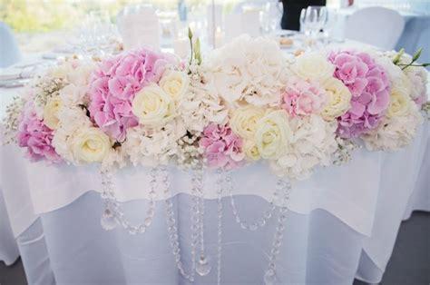 table d honneur et d 233 coration florale elegance et raffinement d 233 tails mariage princier
