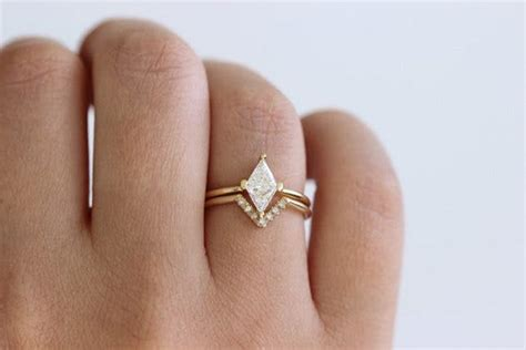 unique fitted engagement ring and wedding band combos that just belong together brit co