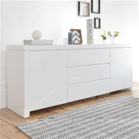Sideboards White by Newton Storage Sideboard White Dwell