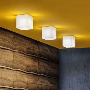 Beetle Cube Lampada da soffitto con paralume in policarbonato, diversi colori e misure