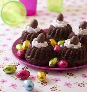 Dessert Paques Original : mini nids de p ques pour petits gourmands les meilleures recettes de cuisine d 39 d lices ~ Dallasstarsshop.com Idées de Décoration
