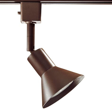 linear track lighting fixtures hton bay oil rubbed bronze linear track lighting