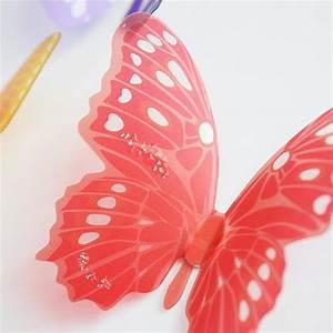 Pcs creative butterflies d wall stickers