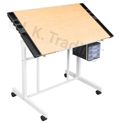 wood drafting  drawing table classic