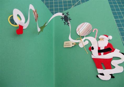 diy pop  christmas card handspire