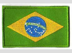 Brazil flag patch BACKPACKFLAGSCOM