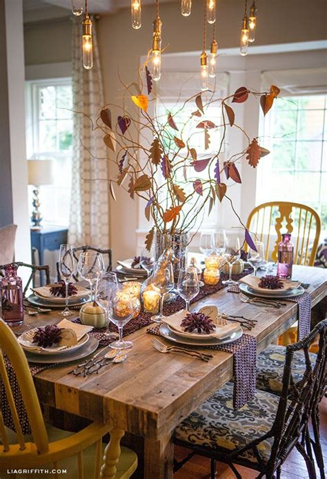 beautiful thanksgiving tablescapes