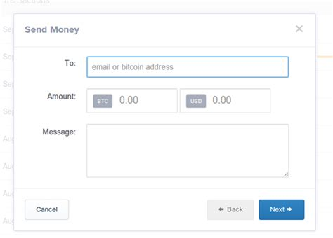 Choose which wallet you want to send bitcoin from. How to send money to a friend with my Coinbase wallet - Quora