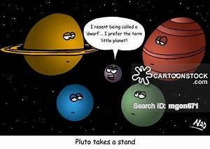 Drawn planets pluto planet - Pencil and in color drawn ...