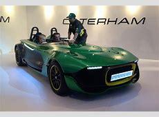 Caterham AeroSeven concept Auto Express
