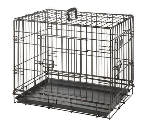 cage chien cottage 63 cm noir cage pour chien sur animalerie boutique