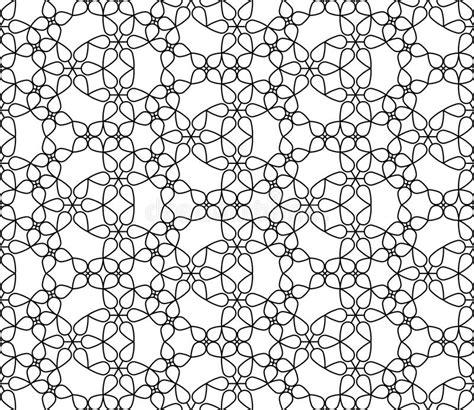 de vector moderne naadloze bloemen zwart witte samenvatting het meetkundepatroon vector