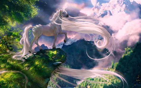 unicorn fantasy wallpaper hd  wallpaperscom