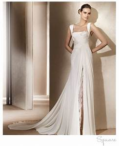 square neck wedding dress by elie saab onewedcom With square neck wedding dress