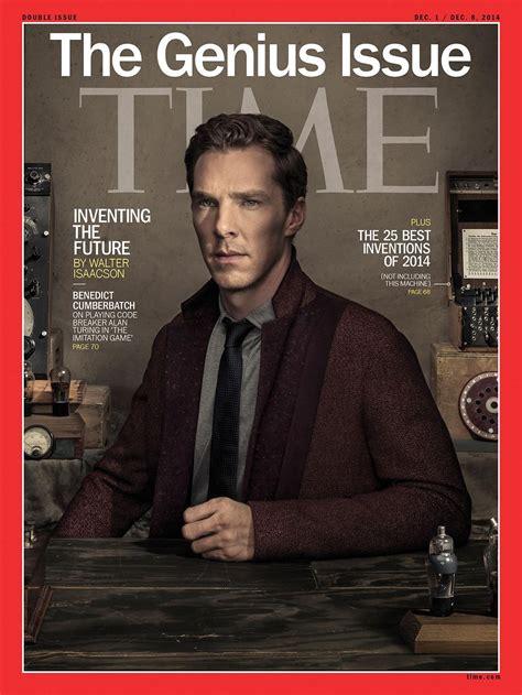Benedict Cumberbatch Covers Time Magazine | The Fashionisto
