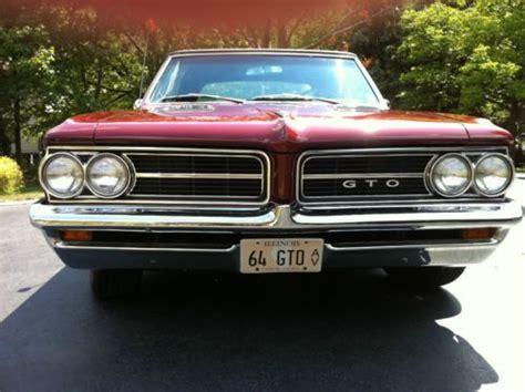 1964 Pontiac Gto Tri Power by Sell Used 1964 Pontiac Gto 389 Ci With Tri Power In