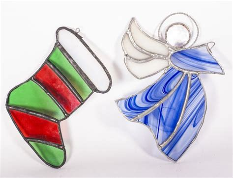 a stained glass course christmas gift making