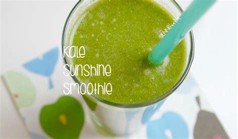 My Sunshine Kale Smoothie! - Jenni Raincloud