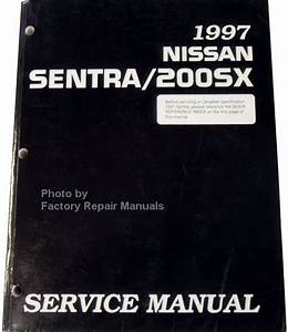 1997 Nissan Sentra And 200sx Factory Service Manual
