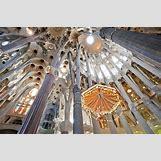Gaudi Sagrada Familia Ceiling | 800 x 532 jpeg 217kB