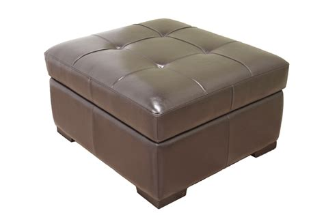 ottoman converts to a guest bed dark brown full leather sleeper ottoman w pull out