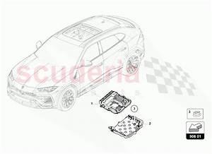 Lamborghini Urus Control Unit For Petrol Engine Parts