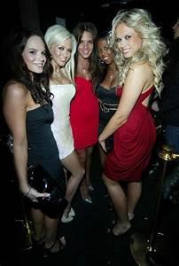 Glamour Girls On A Nightout At The Embassy Nightclub