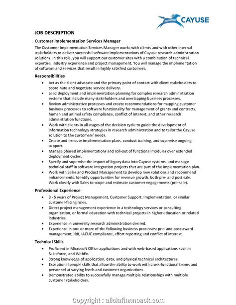 Customer Service Resume Description by Top Customer Service Manager Collection Of
