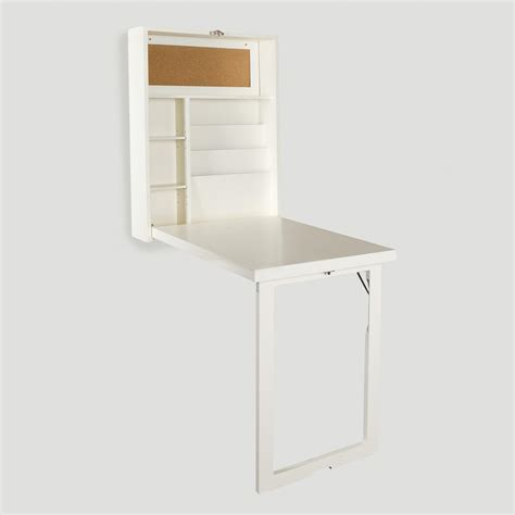 White Alden Foldout Convertible Desk World Market